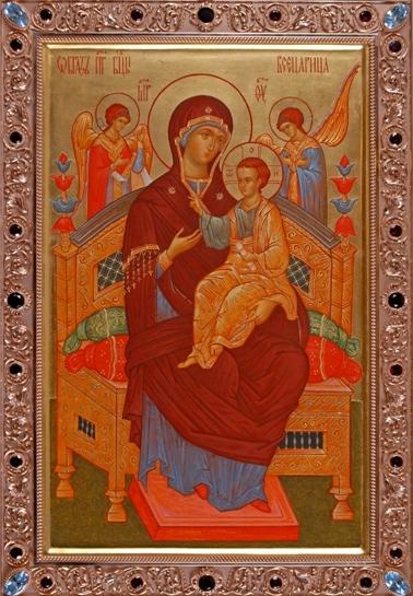 Образ Пресвятой Богородицы Всецарица