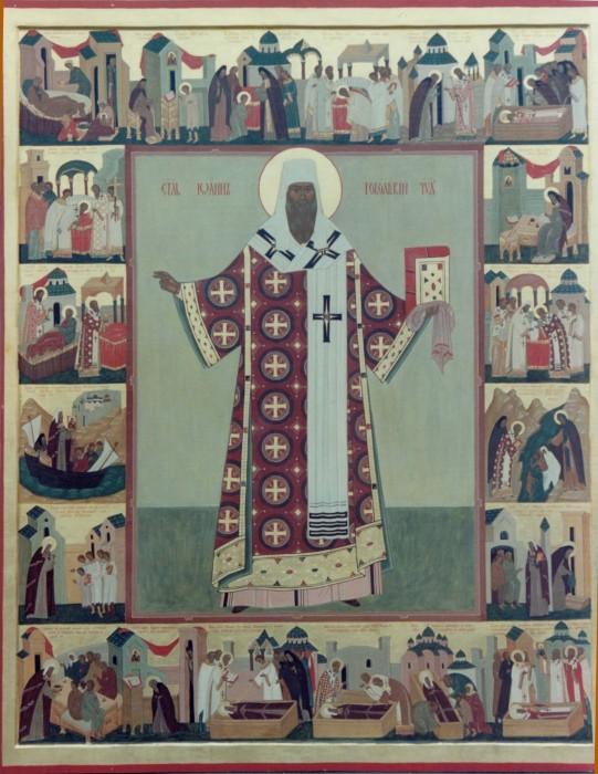 Житийная икона Святителя Иоанна Тобольского