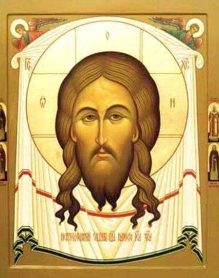 Спас Нерукотворный с Полеосными святыми