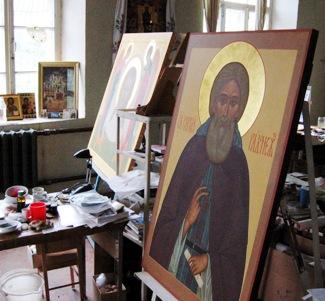 Иконопись, иконописная мастерская