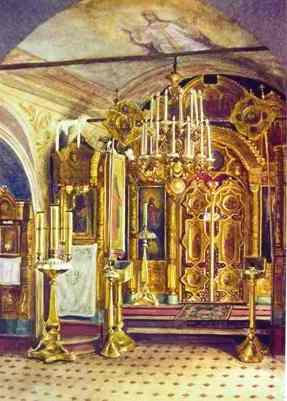 Иконостас в ц.Николая Чуд. в Клениках
