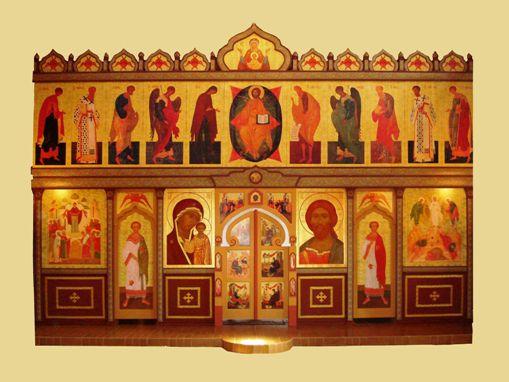 Иконостас в Карапчанке