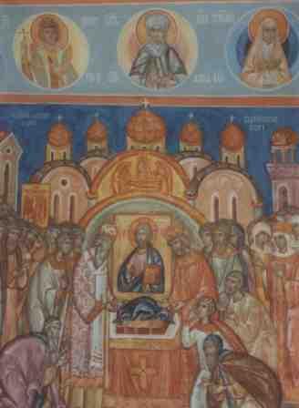 Фреска. Символика храма